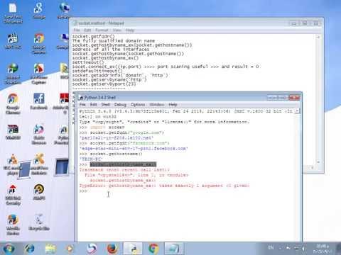 23_socket review (simple port scanner tool)
