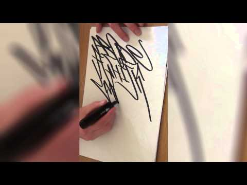 How To Tag Graffiti: Graffiti Alphabet A-Z
