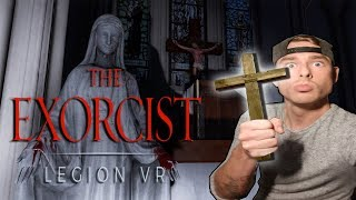 BEHOLD THE CROSS OF THE ALMIGHTY MERP CHRIST • EXORCIST LEGION VR GAMEPLAY