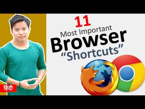 11 Browser Shortcut Keys Everyone Should Know 🔥 | Google Chrome | FireFox