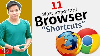 11 Browser Shortcut Keys Everyone should know 🔥 | Google Chrome | FireFox