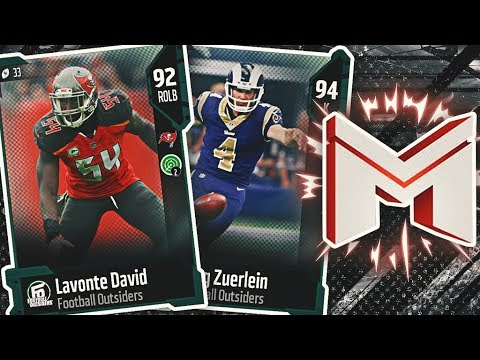 Crazy Pulls Again! New Motivators & Football Outsiders! Madden NFL 18