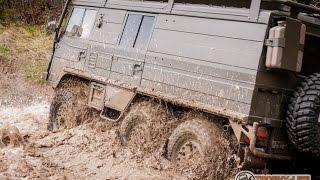 Pinzgauer 712K 6x6 mud trophy,