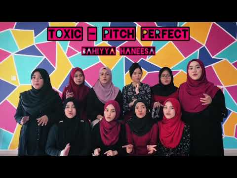 FULL TOXIC COVER (PITCH PERFECT) Acapella Cover - Bahiyya Haneesa