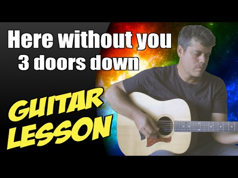 Here without you chords acoustic