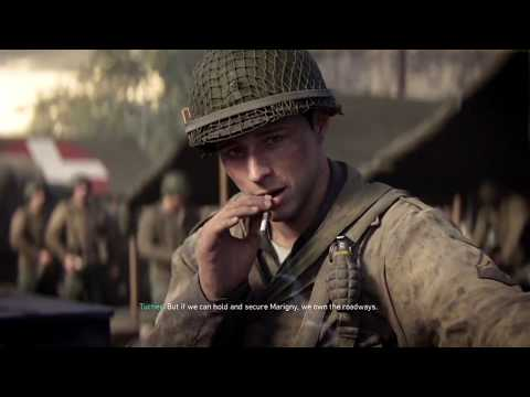 call of duty world war 2 operation cobra mission gameplay