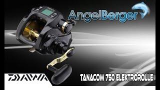 Tanacom 500 RH Daiwa Elektrische Multirolle Linecounterrolle Angelrolle Angeln