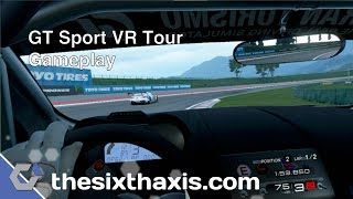 GT Sport VR Tour Gameplay