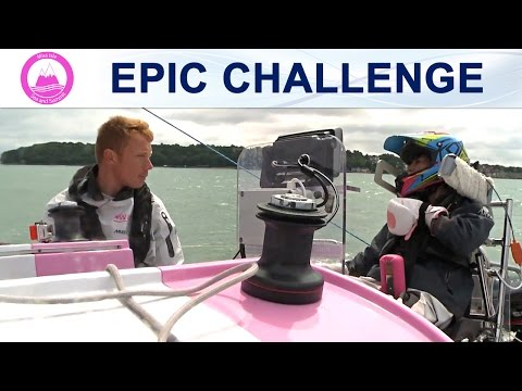 Epic Sailing Challenge About To Begin - Inspirational Disabled Teen Natasha Lambert