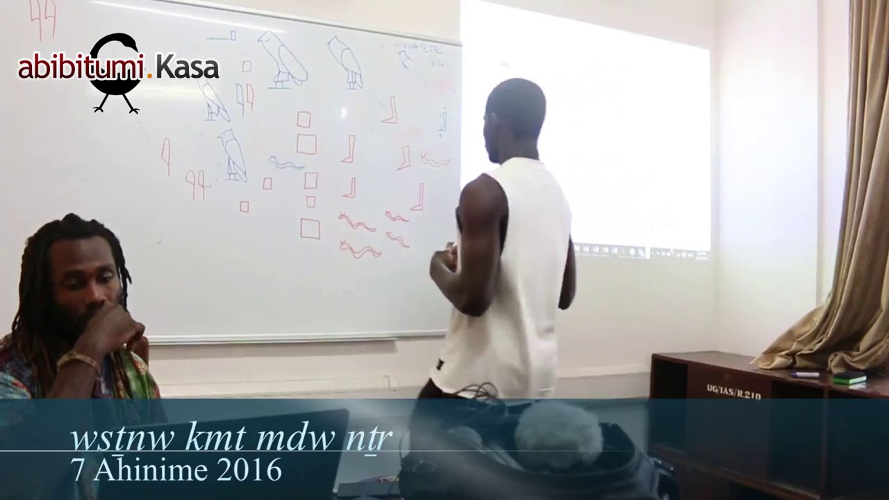 Teaching Mdw Ntr in Afrikan Languages