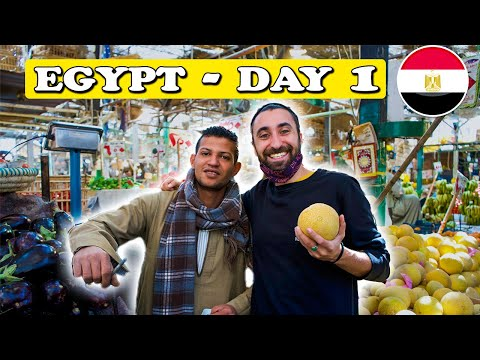 First Impressions of Egypt Day 1 🇪🇬 مصر