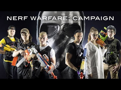Nerf Warfare: Campaign | Full Movie! (Nerf First Person Shoo