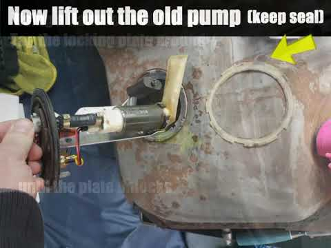 How To Replace Fuel Pump On Ford Ka Mk1 Streetka Youtube