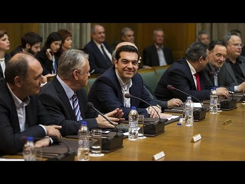PM Alexis Tsipras tells first cabinet meeting: