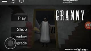 ROBLOX: Granny is back and attacked me (granny)
