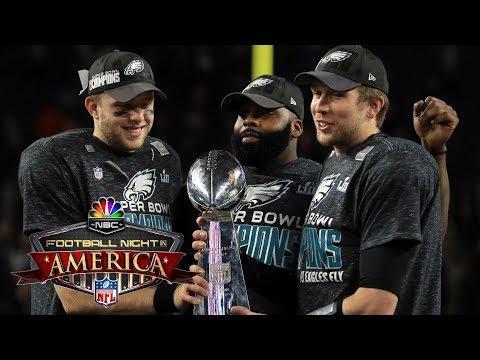 NFL 2018 SEASON PREVIEW I Football Night in America crew pick division winners I NBC Sports