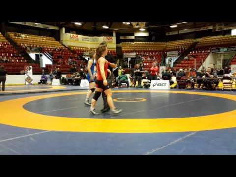 2016 Canadian Senior Championships: 58 kg Tianna Kennett vs. Krystin Paquette