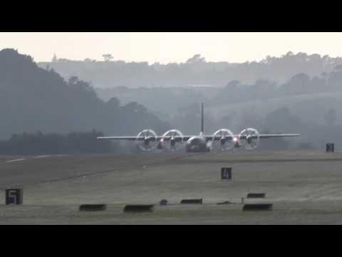 RNZAF LOCKHEED C-130 TAKE OFF -  WHENUAPAI