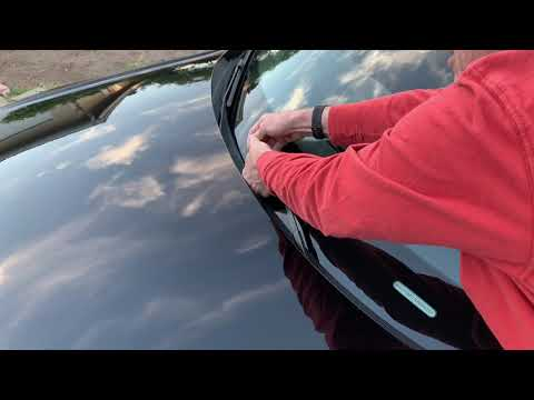 How to put up your Audi wiper blades YouTube