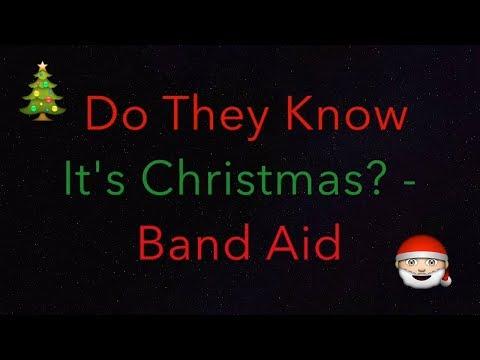 Band Aid - Do They Know It's Christmas? Lyrics