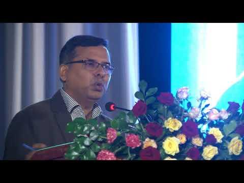 Bipin Adhikari speaking at Sushil Koirala Memorial Foundation
