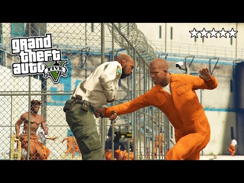 GTA 5 PC Mods - PRISON MOD #2! GTA 5 Prison Break & Prison R