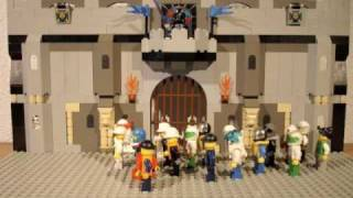 Lego stop-motion animation Radetzky March