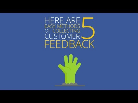 5 Methods for Collecting Customer Feedback