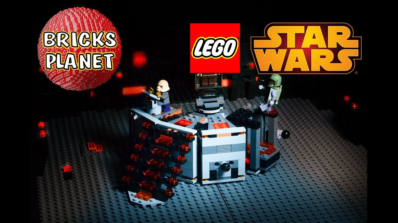 CarbonFreezing Chamber LEGO Star Wars Stop Motion Review - 25 2 lego star wars minifigures han solo han in carbonite blaster