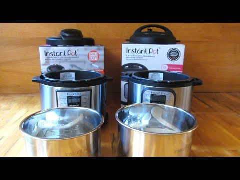 Instant Pot | LUX vs DUO Series Comparison | 6-1 and 7-1