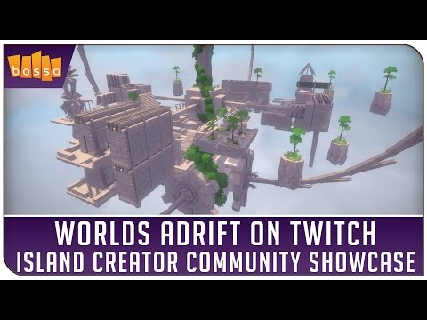 Worlds Adrift on Twitch - Island Creator Community Showcase