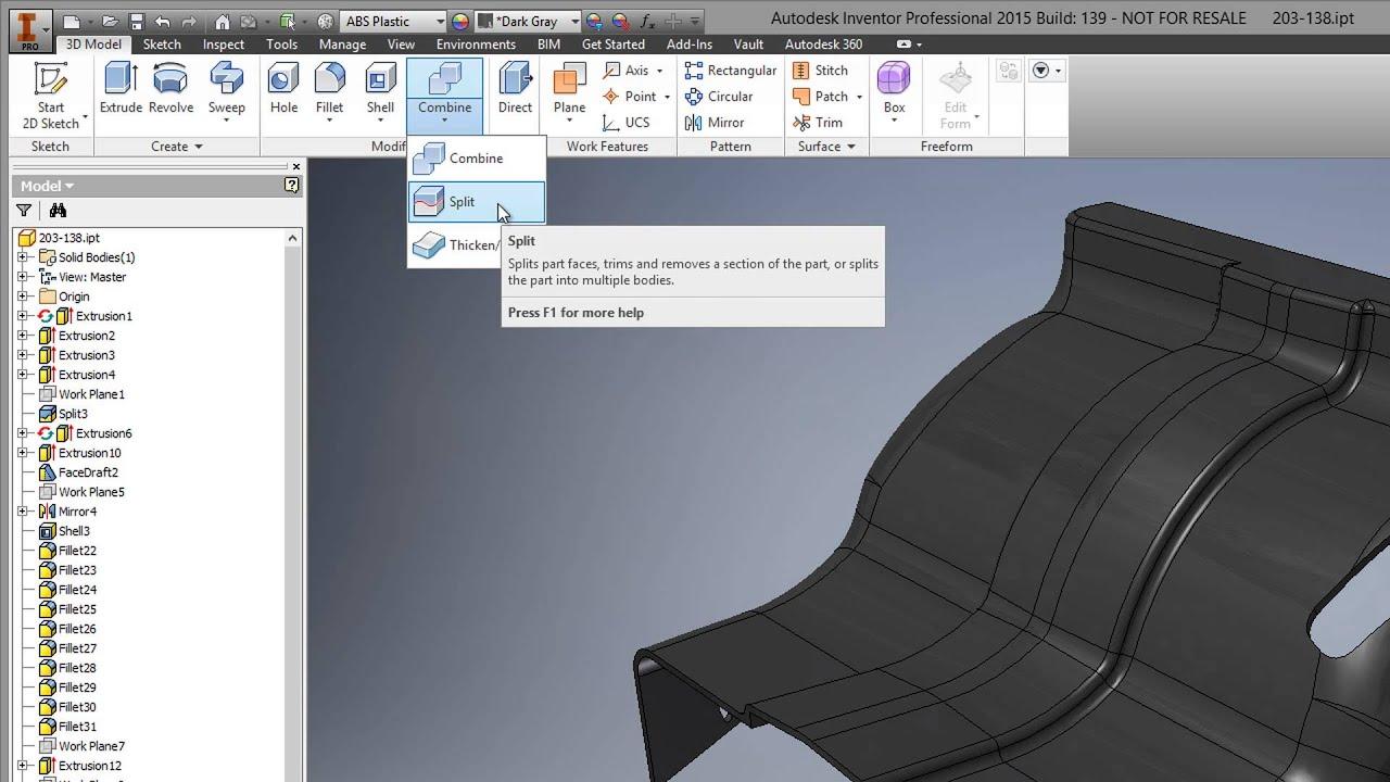 Customization of Autodesk Inventor User Interface