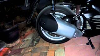 Muffler sound sample - Slip On Muffler Custom NMAX