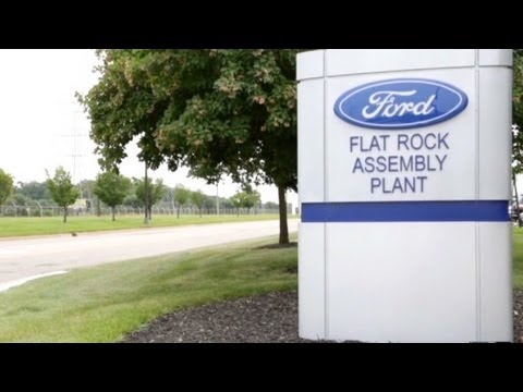 Ford Fusion rolls off Detroit assembly line