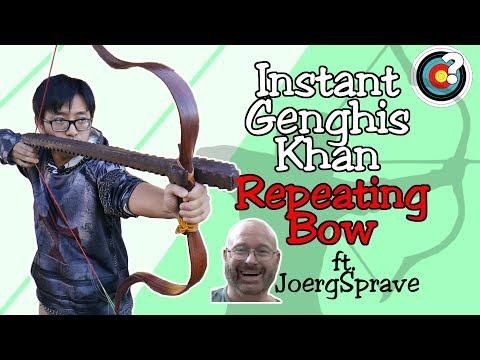 Archery | Instant Genghis Khan ft. JoergSprave