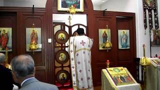 足利ハリストス正教会 2010.11.28 聖体礼儀①