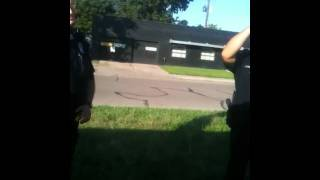 Grand Island Nebraska police harass us again 3
