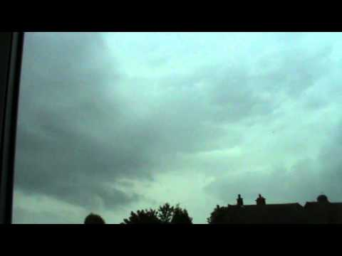 Early Morning Thunderstorm Walsall West Midlands 7-6-2014