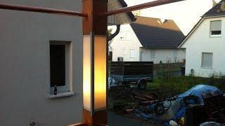 Lampe selber bauen individuell aus Holz - selber machen das macht Spaß und spart Geld