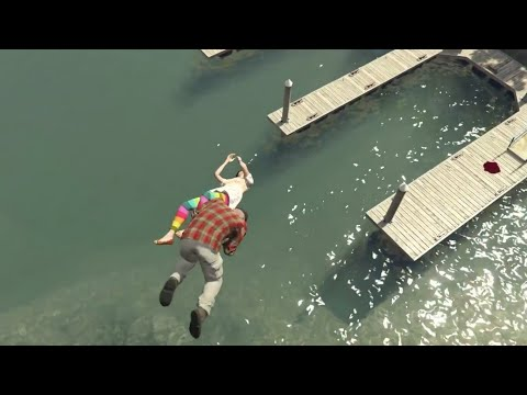GTA 5 Violent kills/ragdolls compilation vol.32 [Slow-mo Brutal kills grand theft auto 5]