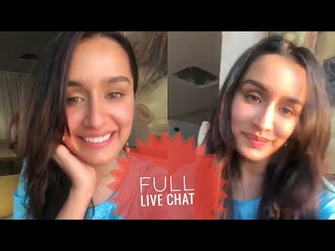 Shraddha Kapoor Celebrates on Completing 20 Million Followers on Instagram FULL LIVE CHAT