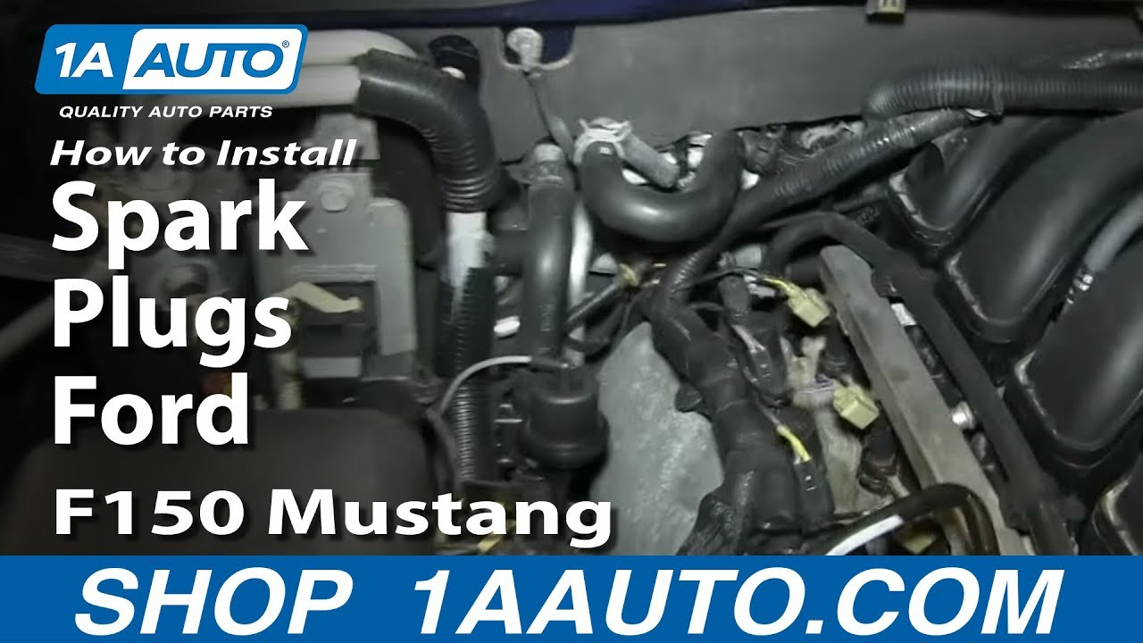 How To Install Replace Spark Plugs Ford 46l Explorer F150 Mustang 2004 Expedition Starter Wiring Diagram