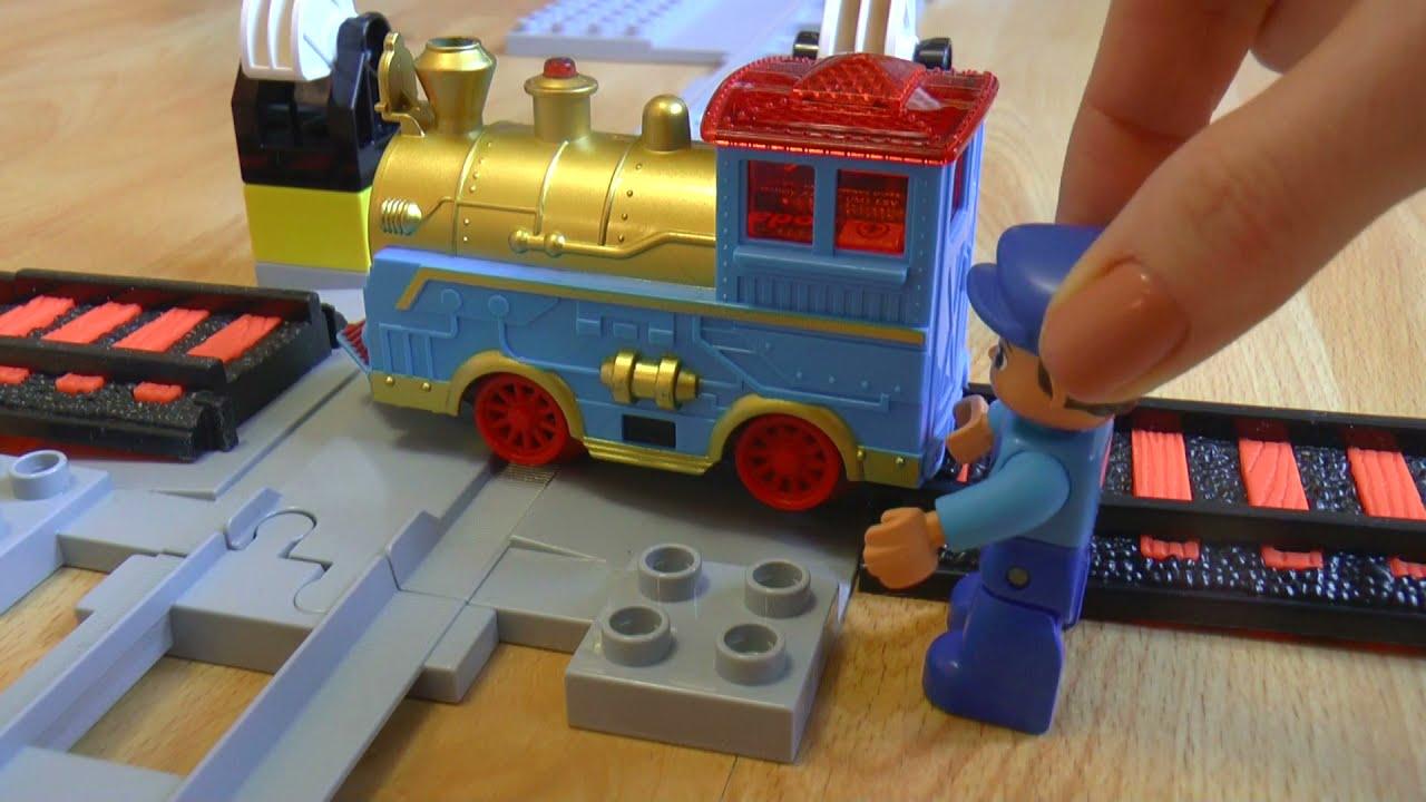 Поезда мультики про паровозики игрушки: Застрявший поезд Train toys videos for children: Stuck train