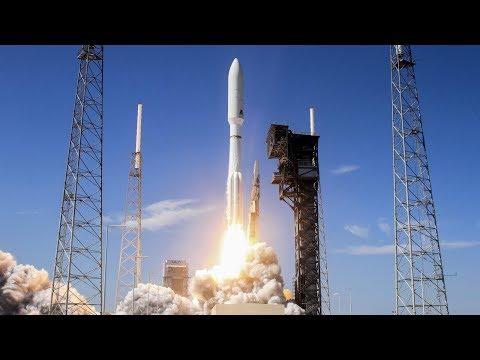LIVE ULA Atlas 5 Rocket Launching AEHF 4 Military Communications Satellite