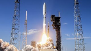 LIVE ULA Atlas 5 Rocket Launching AEHF 4 Military Communications Satellite