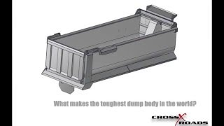 Dump truck bed built by Xtreme Dump Bodies
