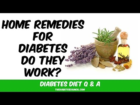 Do Home Remedies for Diabetes Type 2 Work?