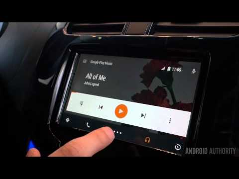 Android Auto hands-on demo: the future of driving