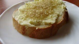 Влог Обзор Хлеб с маслом и сахаром