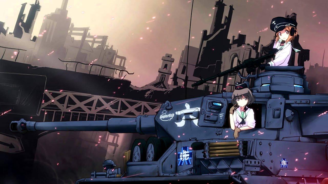 Girls Und Panzer OST: DreamRiser (TV Size) - YouTube